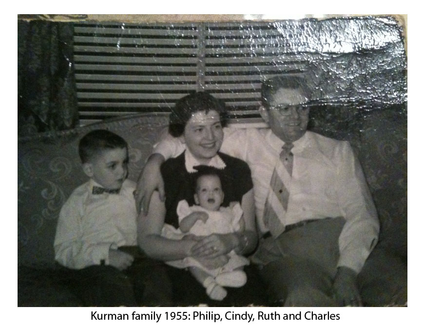 Kurman Family in 1955